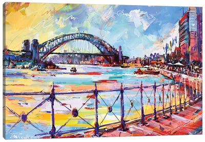 Sydney III Canvas Art Print