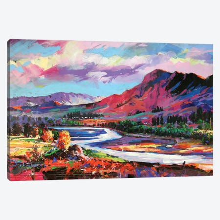 Tuki Tuki River Canvas Print #JCF82} by Jos Coufreur Canvas Artwork