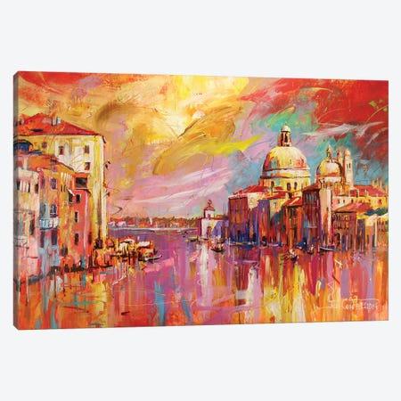 Venice Canvas Print #JCF85} by Jos Coufreur Canvas Print