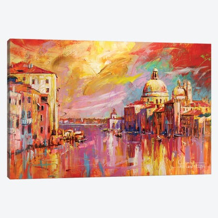 Venice Canvas Print #JCF85} by Jos Coufreur Canvas Print