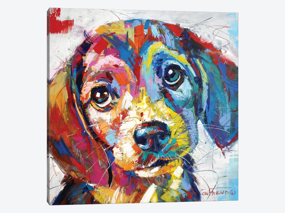 Beagle by Jos Coufreur 1-piece Art Print