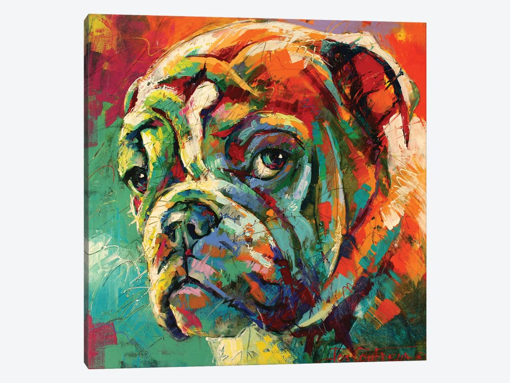 Boxer by Jos Coufreur 1-piece Canvas Wall Art