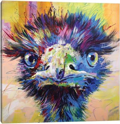 Emu X Canvas Art Print