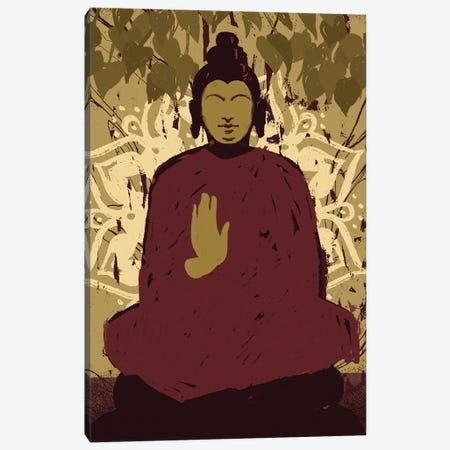 Under the Bodhi Tree II Canvas Print #JCG113} by Jacob Green Canvas Wall Art