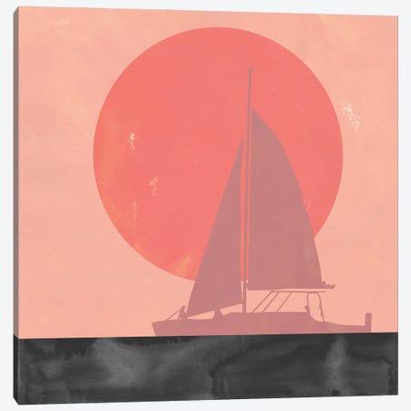 Deep Sea Sunset II Canvas Print #JCG129} by Jacob Green Art Print