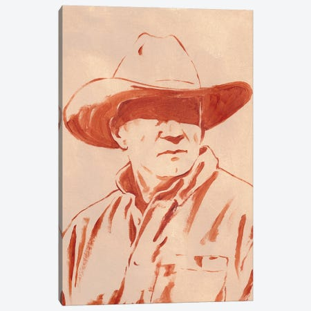 Man of the West III Canvas Print #JCG143} by Jacob Green Canvas Print
