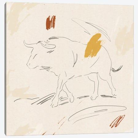 Big Bull II Canvas Print #JCG175} by Jacob Green Art Print