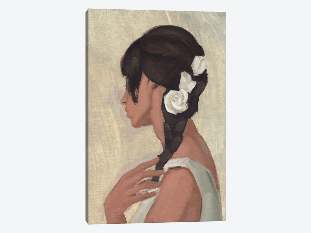 Female Portrait II by Jacob Green 1-piece Canvas Art Print
