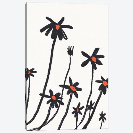 Young Coneflowers I Canvas Print #JCG213} by Jacob Green Canvas Print