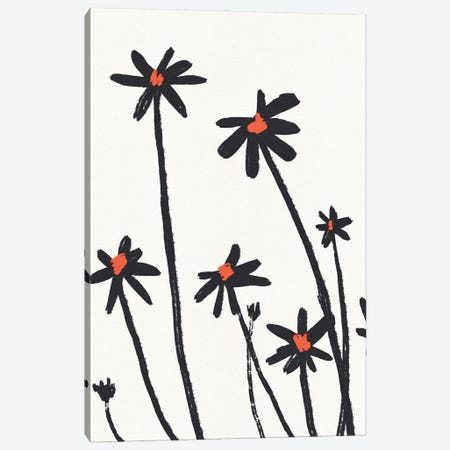 Young Coneflowers II Canvas Print #JCG214} by Jacob Green Canvas Art
