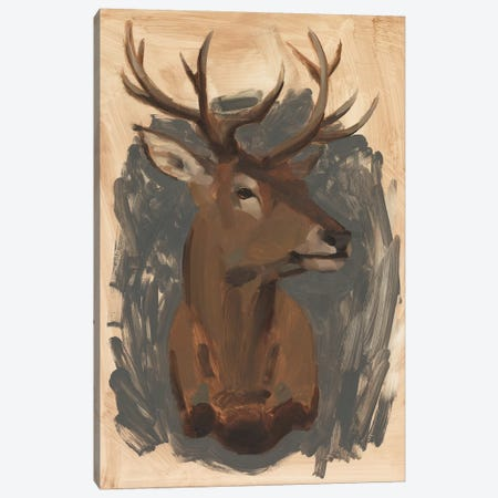 Red Deer Stag I 3-Piece Canvas #JCG23} by Jacob Green Canvas Art Print