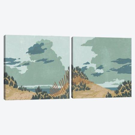 Hidden Dune Diptych Canvas Print Set #JCG2HSET001} by Jacob Green Art Print