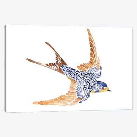 Jeweled Barn Swallow I Canvas Print #JCG42} by Jacob Green Canvas Art Print