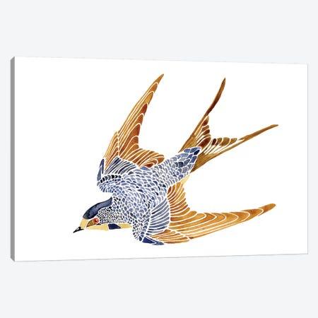 Jeweled Barn Swallow II Canvas Print #JCG43} by Jacob Green Canvas Print