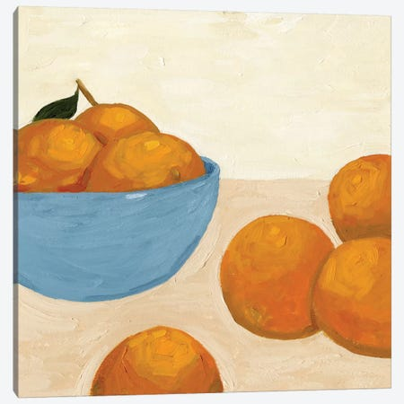 Mandarins I Canvas Print #JCG44} by Jacob Green Canvas Wall Art