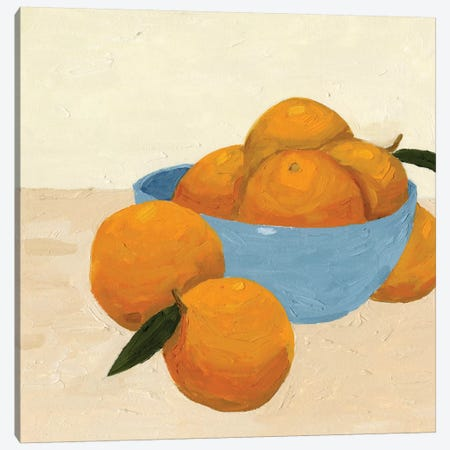 Mandarins II Canvas Print #JCG45} by Jacob Green Canvas Wall Art