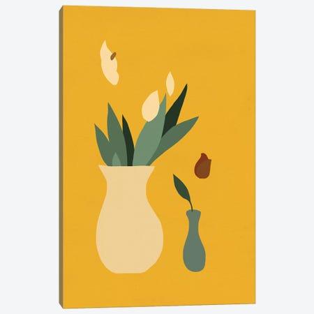 Mod Peace Lily II Canvas Print #JCG47} by Jacob Green Canvas Artwork