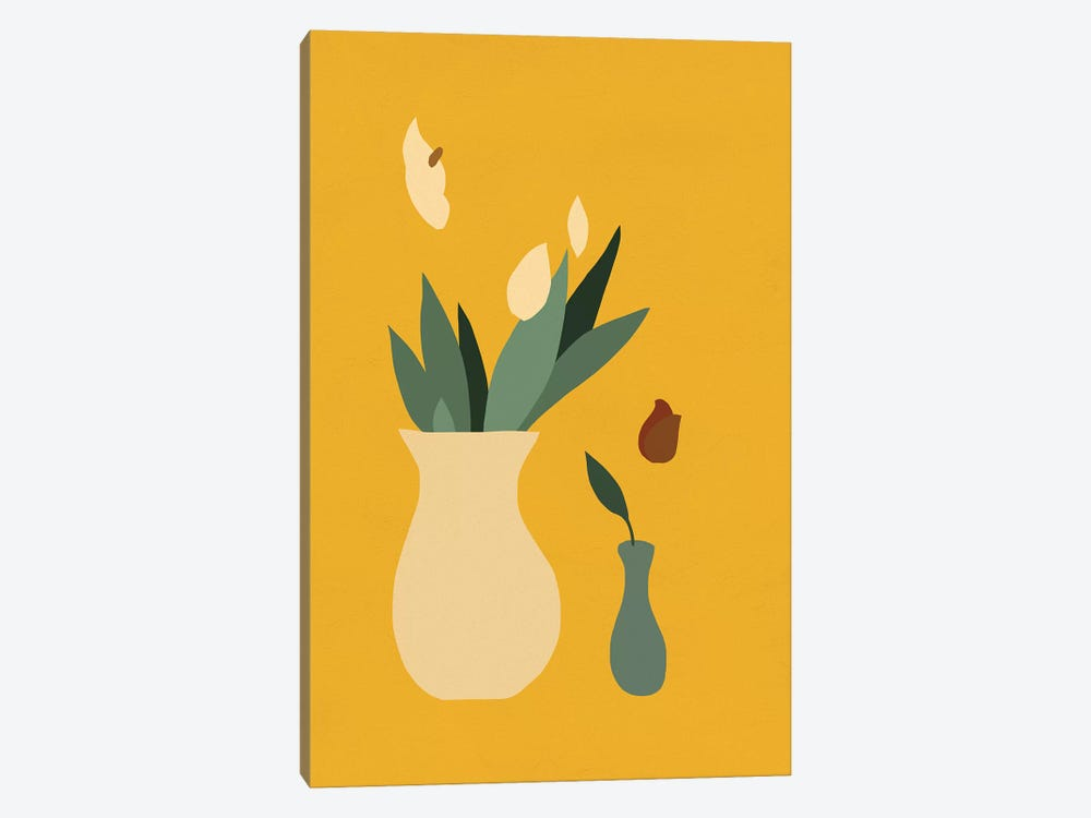 Mod Peace Lily II by Jacob Green 1-piece Canvas Print