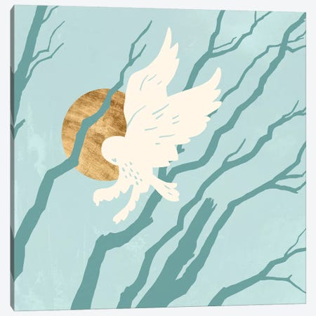 Silent Hunter I Canvas Print #JCG48} by Jacob Green Canvas Print