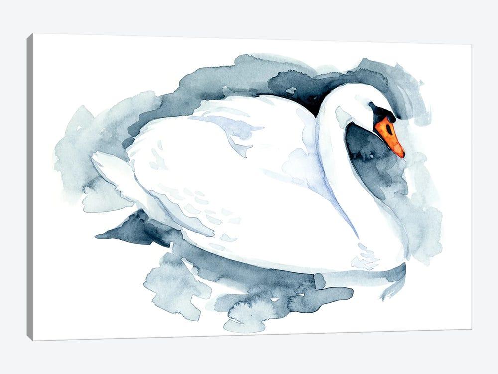 Silverlake Swan I by Jacob Green 1-piece Canvas Artwork