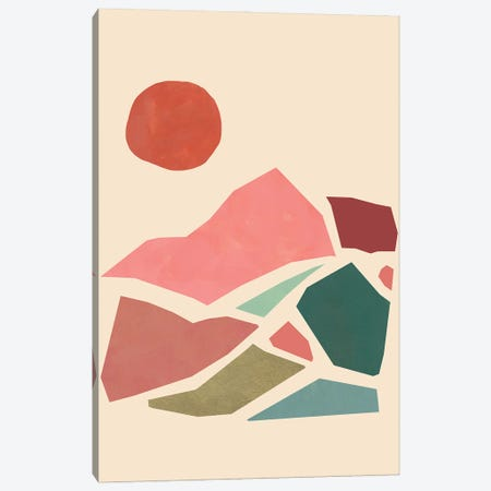Tectonic Guide I 3-Piece Canvas #JCG66} by Jacob Green Canvas Artwork