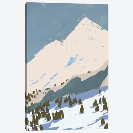 Bunny Slopes I Canvas Print #JCG74} by Jacob Green Art Print