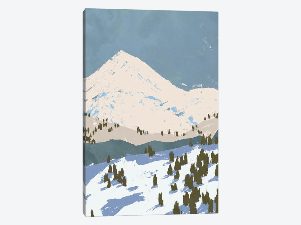 Bunny Slopes II by Jacob Green 1-piece Canvas Artwork
