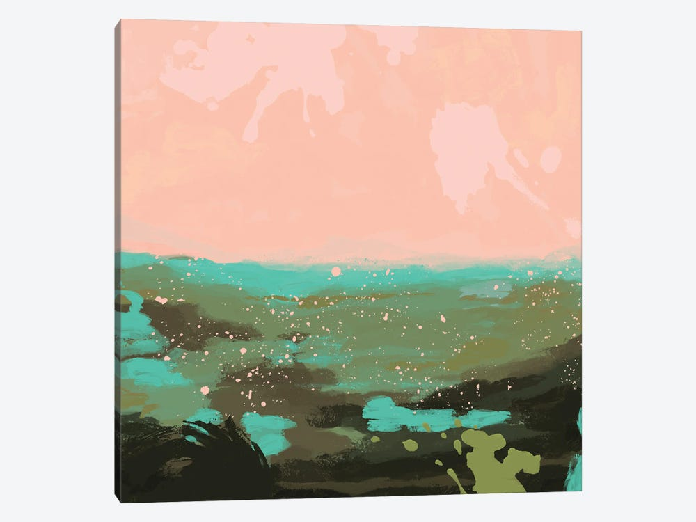 Neon Expanse I by Jacob Green 1-piece Canvas Art