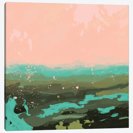 Neon Expanse II Canvas Print #JCG85} by Jacob Green Canvas Art