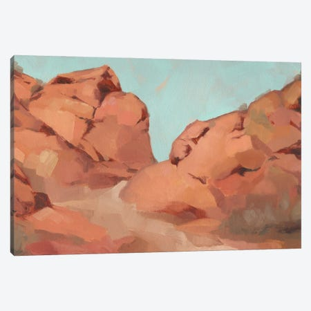 Red Rocks View I 3-Piece Canvas #JCG90} by Jacob Green Canvas Wall Art