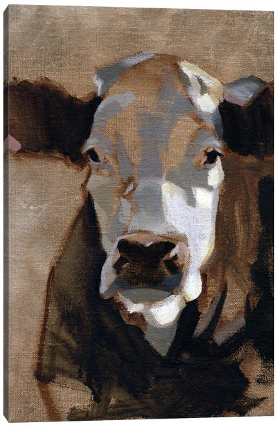 East End Cattle I Canvas Art Print