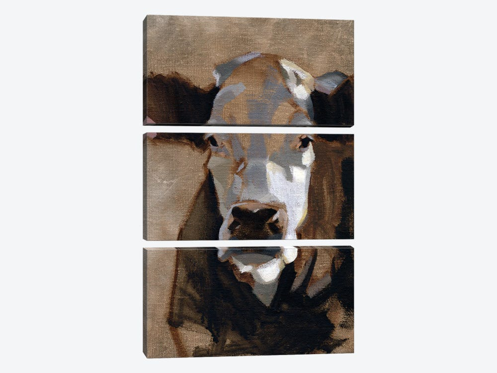 East End Cattle I by Jacob Green 3-piece Canvas Art Print