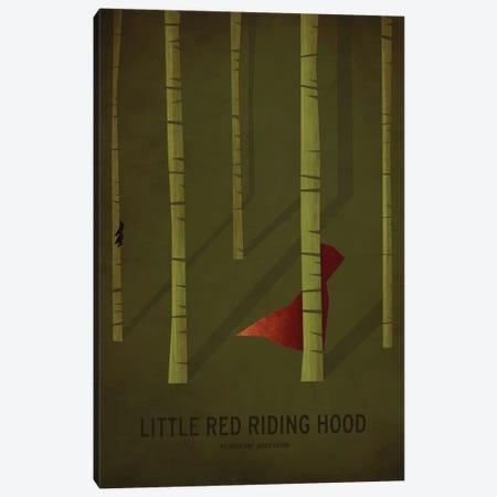 Little Red Riding Hood Canvas Print #JCK3} by Christian Jackson Art Print