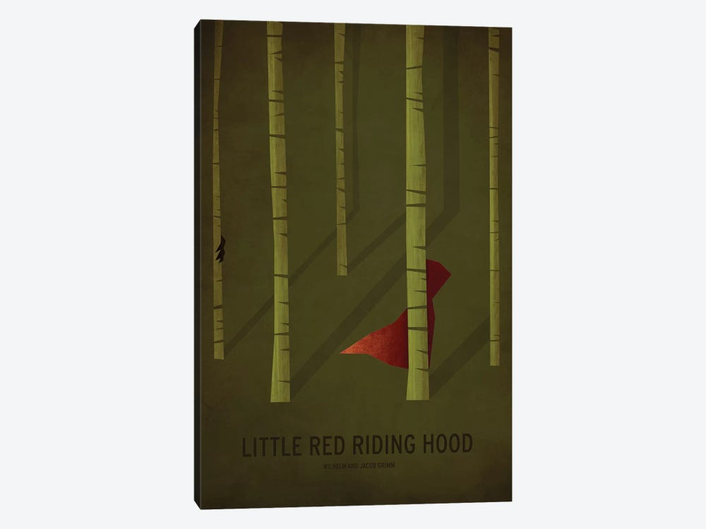 Little Red Riding Hood by Christian Jackson 1-piece Canvas Wall Art