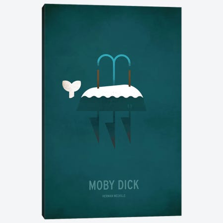 Moby Dick Canvas Print #JCK4} by Christian Jackson Canvas Wall Art