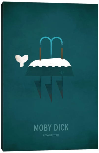 Moby Dick Canvas Art Print