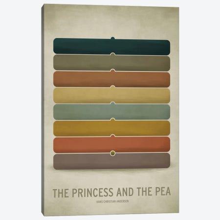 The Princess And The Pea Canvas Print #JCK9} by Christian Jackson Art Print