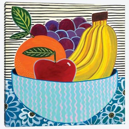 Fruit Bowl Canvas Print #JCN11} by Jelly Chen Canvas Art Print