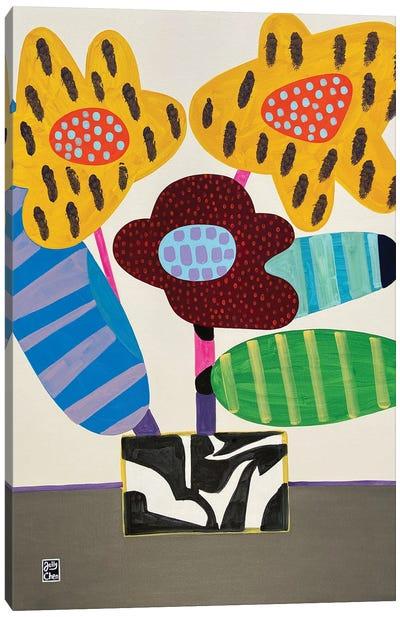 Happy Orchids Canvas Art Print