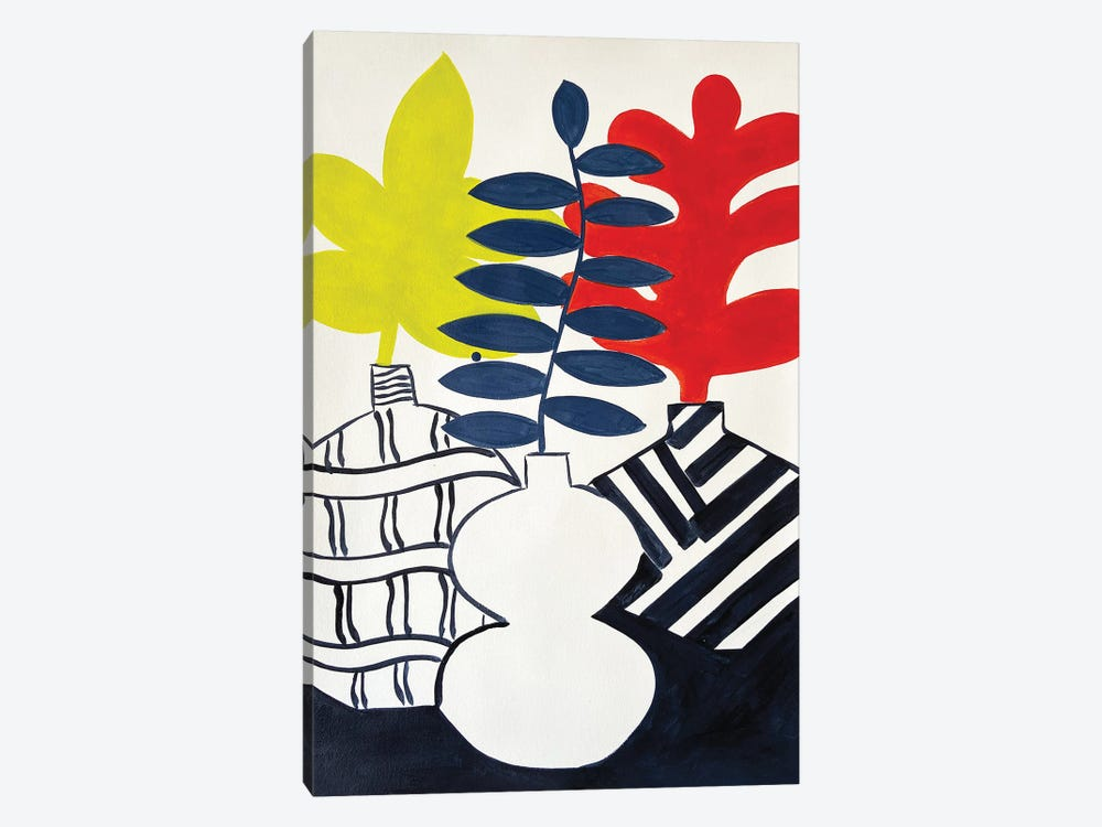 Primary Plants by Jelly Chen 1-piece Canvas Wall Art