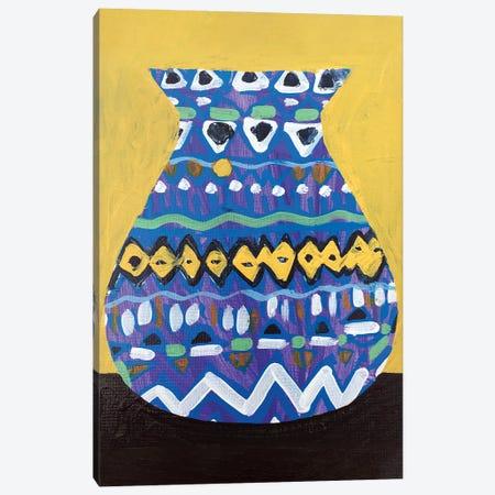 Purple Vase Canvas Print #JCN30} by Jelly Chen Canvas Art Print