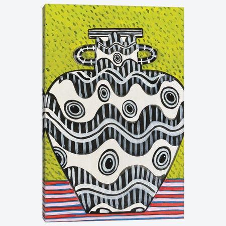 Squid Eye Vase Canvas Print #JCN34} by Jelly Chen Canvas Artwork