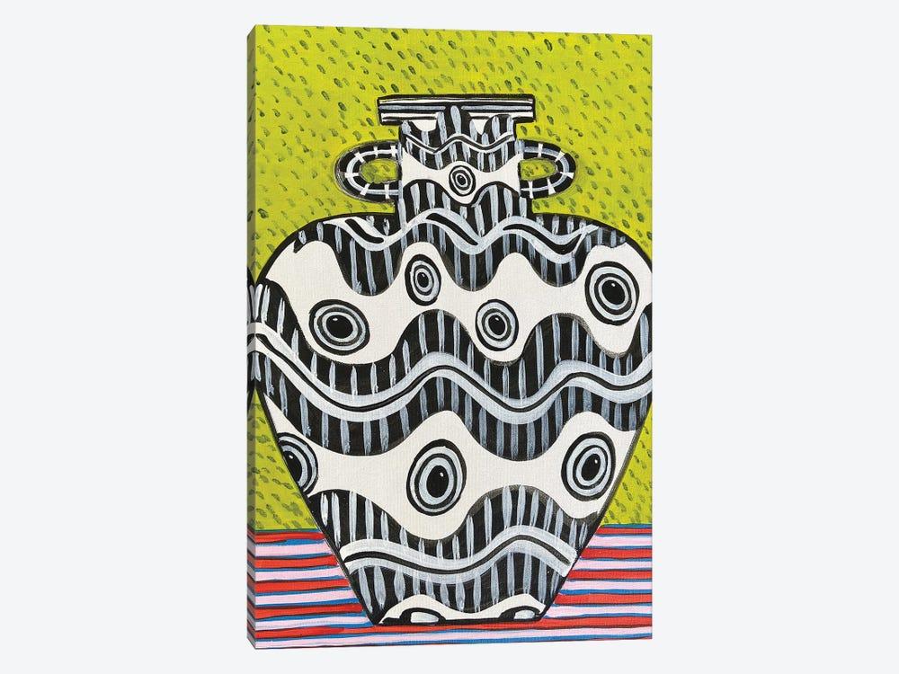 Squid Eye Vase by Jelly Chen 1-piece Canvas Art Print