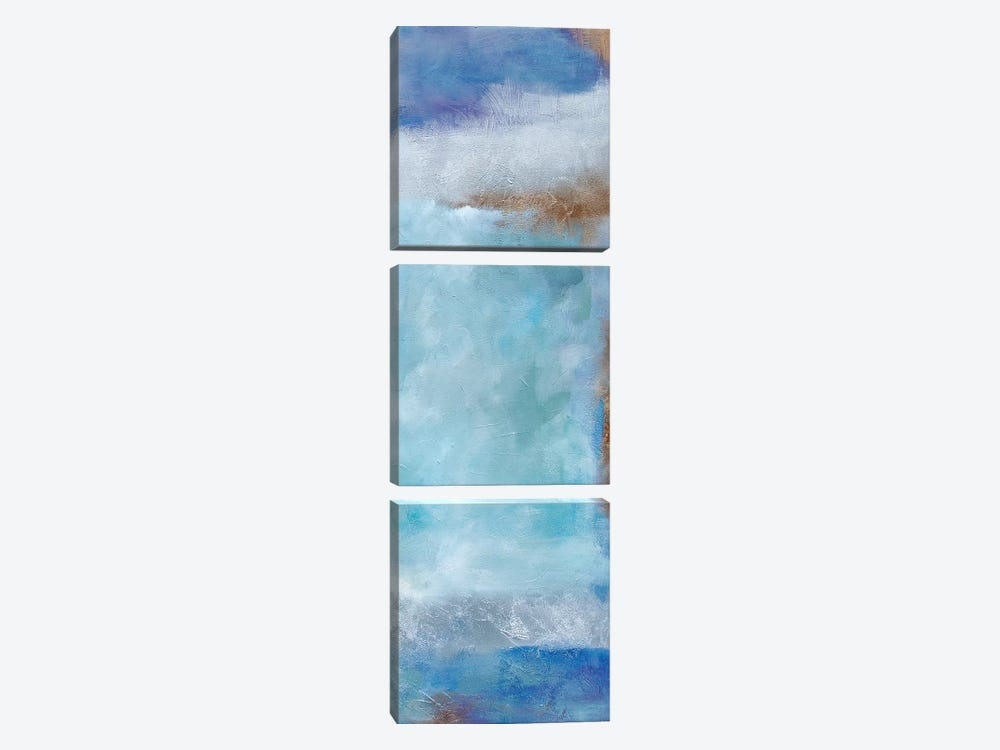 Beginnings II by Julia Contacessi 3-piece Canvas Print