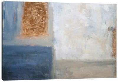 Window View Canvas Art Print