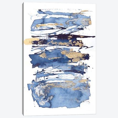 Blue Rapture I Canvas Print #JCO61} by Julia Contacessi Art Print