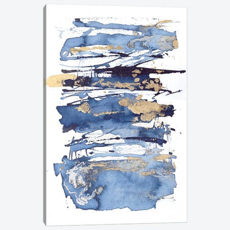 Blue Rapture I Canvas Print #JCO61} by Julia Contacessi Art Print