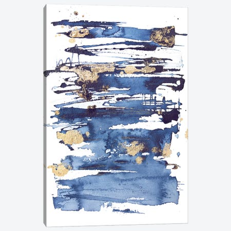 Blue Rapture II Canvas Print #JCO62} by Julia Contacessi Canvas Art Print