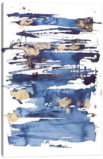 Blue Rapture II Canvas Art Print