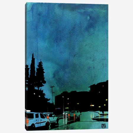 Cars I Canvas Print #JCR103} by Giuseppe Cristiano Canvas Art